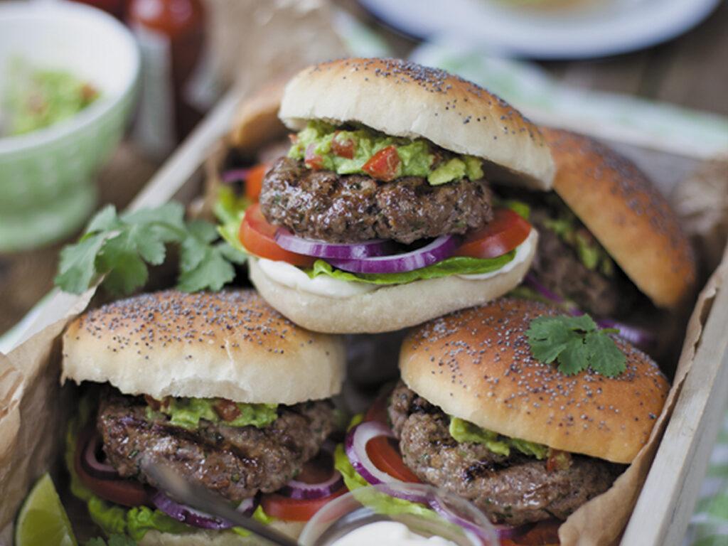 Irish Beef Burger mit Guacamole